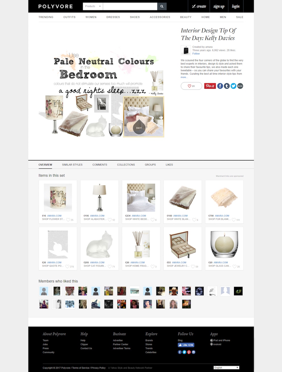 Interior Design Tip Of The Day Kelly Davies - Neutrals - Polyvore FINAL